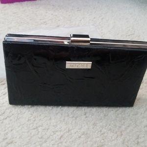 Miche black clutch wallet